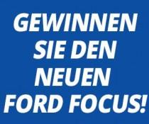 Ford Focus Gewinnspiel - Gesamtwert € 12.930