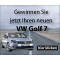 Golf 7 Gewinnspiel - Gesamtwert von € 24.999
