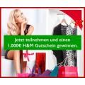 Fashiongutschein Gewinnspiel - 1x €1000