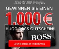 Premium Fashion Gewinnspiel - € 1000 HUGO BOSS Gutschein