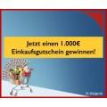 Supermarktgewinnspiel - 1x €1000